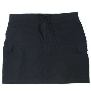 VTG Xhilaration Black Cargo Pockets Skirt